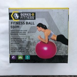 Series 8 Fitness Ball For Core Conditioning